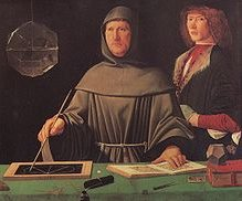 Luca Pacioli - an early mathematician and accountant.